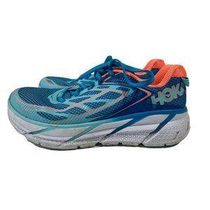 HOKA One Clifton 3 Womens Sz 7 Blue Running Shoes